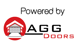 AGG Doors Powered By Logo